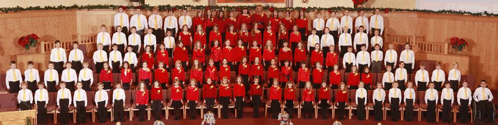 Детский хор г.Шакопи, США