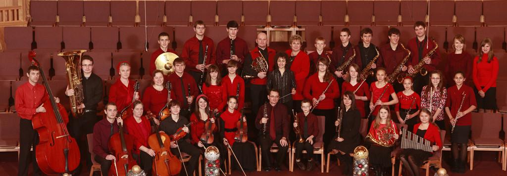 Церковный оркестр славянской церкви г. Шакопи