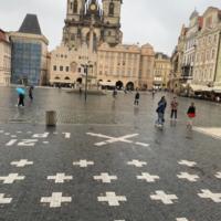 Место казни сторонников Яна Гуса в Праге